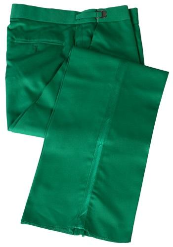 Pantalón de esmoquin verde