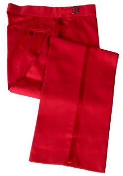 Pantalón rojo de esmoquin