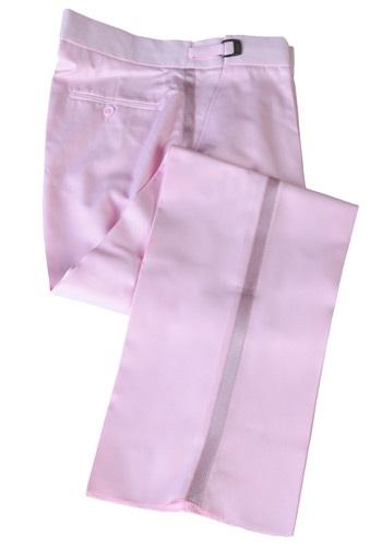 Pantalones de esmoquin rosa