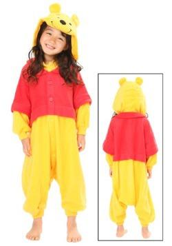 Frente de traje de pijama de niños Pooh