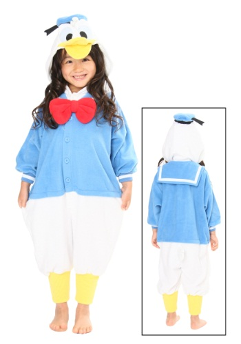 Traje de disfraces de pijama de pato de Daffy de los niños