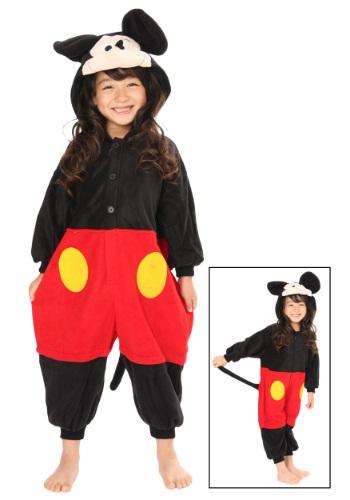Traje de disfraz de pijama de Mickey Mouse para niños