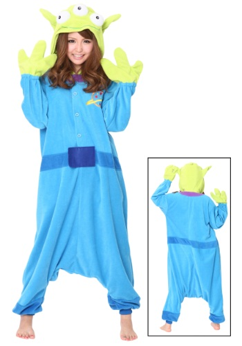 Frente de disfraz de pijama alienígena