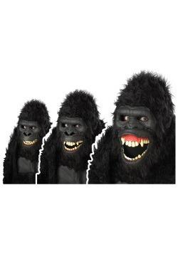 Máscara de gorila loco