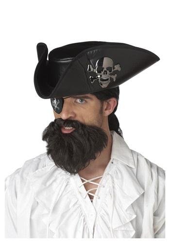 Barba de pirata capitán