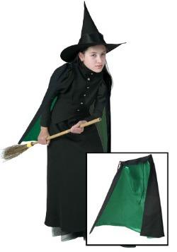 Capa de bruja clásica infantil