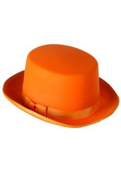 Sombrero de esmoquin naranja