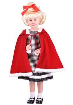 Disfraz de chica navideña para niños pequeños-1