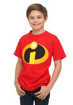 Camiseta de disfraz Boys Incredibles Front
