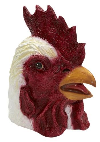 Máscara de látex de gallo de lujo