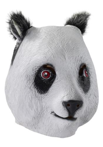 Máscara de látex de panda de lujo