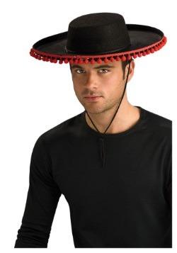 Sombrero español Durashape para adulto con pompones
