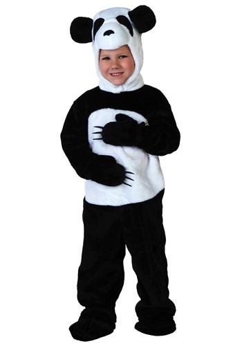 Disfraz de panda para niños pequeños