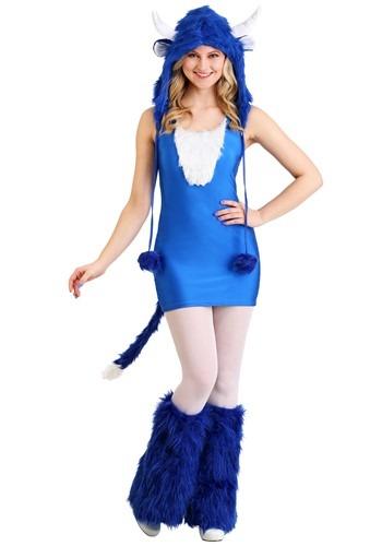 Disfraz de buey azul sexy