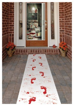 Camino de mesa sangriento