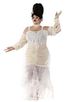 Disfraz de la novia de Frankenstein talla extra