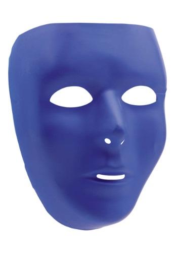Máscara facial completa azul