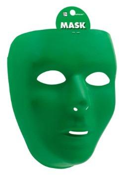 Máscara facial completa verde
