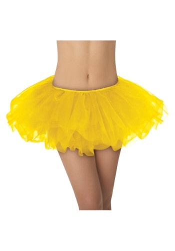 Amarillo con tutú