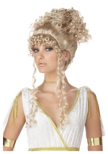 Peluca de diosa ateniense