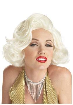 Peluca de disfraz clásico de Marilyn