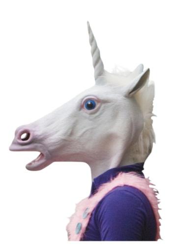 Máscara de unicornio mágico