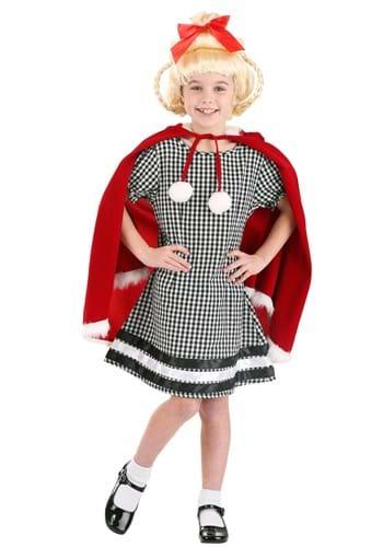 Disfraz de chica navideña