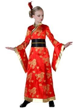 Disfraz de geisha infantil