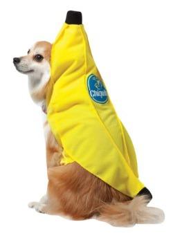 Disfraz para perro de plátano Chiquita