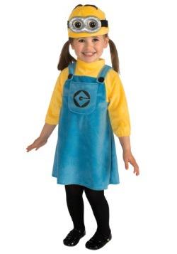 Disfraz de Minion para niñas pequeñas
