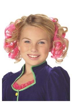 Clips rosa para cabello