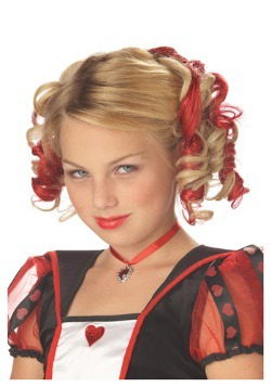 Clips de cabello rojo rizado