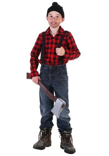 Disfraz infantil de leñador