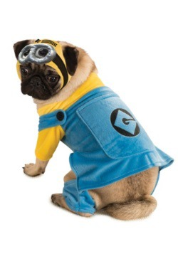 Disfraz de mascota de minion