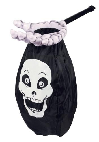 Bolso para dulces de esqueleto