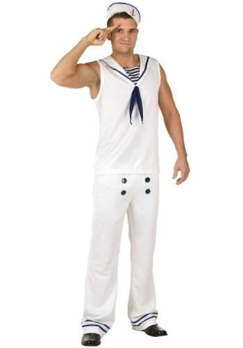 Disfraz blanco de marinero