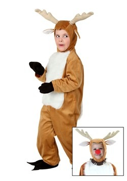 Disfraz de ciervo para niños pequeños