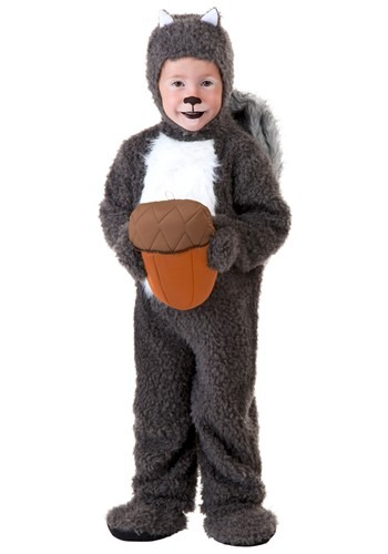 Disfraz de ardilla para niños pequeños