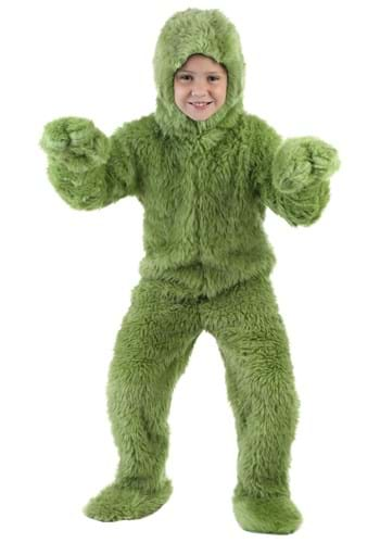 Mameluco infantil verde peludo