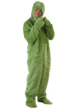 Mameluco verde peludo para adulto