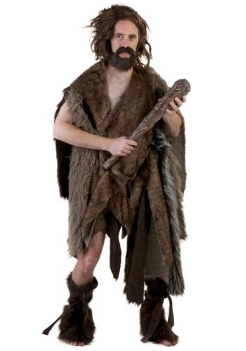 Disfraz de lujo para adulto de cavernícola