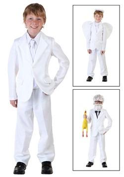 Disfraz traje infantil blanco
