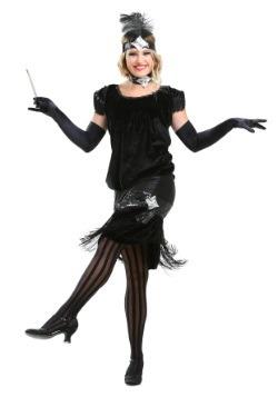 Disfraz de terciopelo deluxe estilo flapper