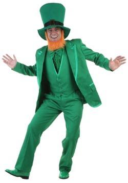 Disfraz de Leprechaun deluxe para hombre