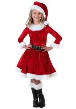 Disfraz de la Sra. Claus para niña