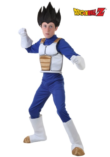 Disfraz de Vegeta de Dragon Ball Z para niños