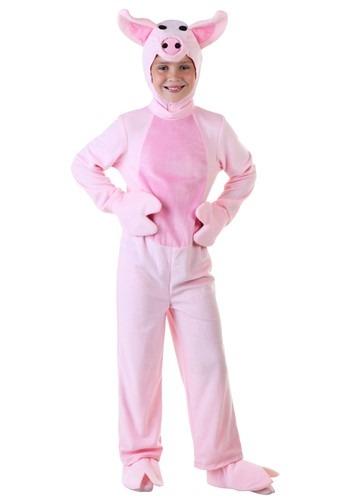 Disfraz de cerdo para niños