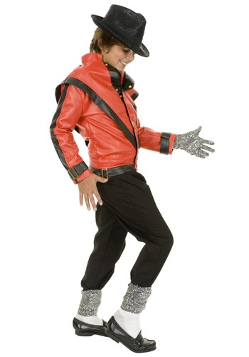 Chaqueta de Thriller Michael Jackson para niños