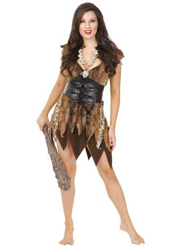 Disfraz de mujer de las cavernas sexy