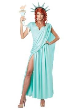 Disfraz de dama libertad talla extra